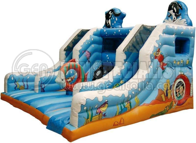 multiattivit gonfiabili - GEA Fun Specialist - Attrezzature per parchi giochi esterni ed interni